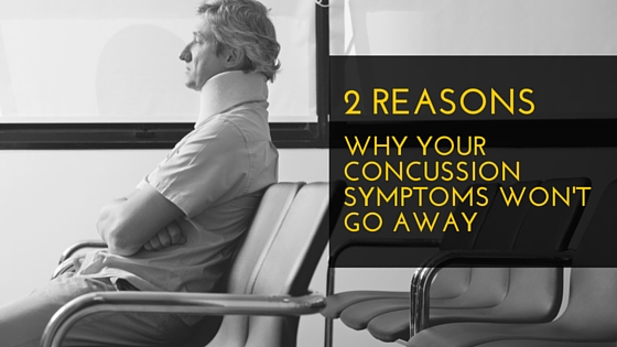 Why Concussion symptoms wont go away