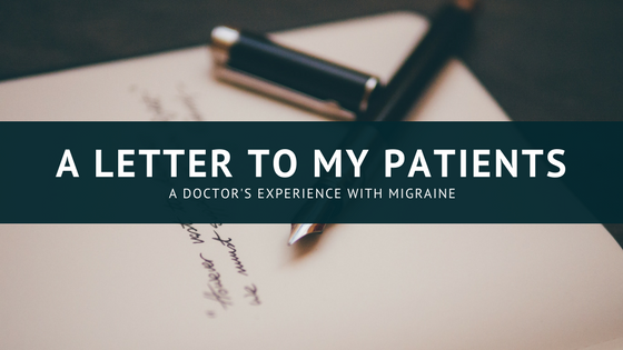 A letter to my patients