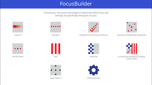 Focus Builder eye movement exercises are one of the tools that can be used to build neuroplasticity